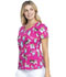 Photograph of Dickies Dickies Prints V-Neck Top in Doggone Sweet