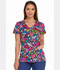 Photograph of Dickies Dickies Prints V-Neck Top in Folklore Floral