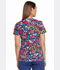 Photograph of Dickies Prints Women's V-Neck Top Folklore Floral DK700-FKFL