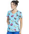 Photograph of Dickies Dickies Prints V-Neck Top in Hello Sunshine Panda