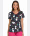 Photograph of Dickies Dickies Prints V-Neck Top in Pretty Little Kitty
