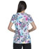 Photograph of Dickies Prints Women's V-Neck Top Zen Butterfly Garden DK700-ZENU