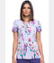 Photograph of Dickies Dickies Prints V-Neck Top in In Line Fleur Fun