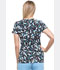 Photograph of Dickies Prints Women's V-Neck Top In A Daisy Daze DK702-INDZ