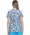 Photograph of Dickies Dickies Prints V-Neck Top in Dot's My Line