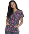 Photograph of Dickies Dickies Prints V-Neck Top in Speck-tacular Love
