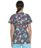 Photograph of Dickies Prints Women's V-Neck Top Toad-ally Chilling DK704-TACH