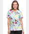Photograph of Dickies Prints Women's V-Neck Top Wild Jungle DK704-WIJU
