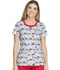 Photograph of Dickies Prints Women's Round Neck Top Dots Amore DK707-DTAE