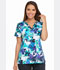 Photograph of Dickies Dickies Prints V-Neck Top in Take It Or Leaf It