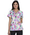 Photograph of Dickies Prints Women's V-Neck Top Toucan Paradise DK709-TUPR