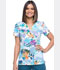 Photograph of Dickies Prints Women's Mock Wrap Top 5 O'clock Somewhere DK714-FVCL
