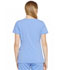 Photograph of Xtreme Stretch Women's Contrast Piping V-Neck Top Blue DK715-CBLZ