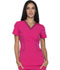 Photograph of Xtreme Stretch Women's V-Neck Top Pink DK715-HPKZ