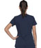 Photograph of Xtreme Stretch Women's V-Neck Top Blue DK715-NVYZ