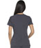 Photograph of Xtreme Stretch Women's V-Neck Top Gray DK715-PWT