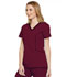 Photograph of Xtreme Stretch Women Contrast Piping V-Neck Top Red DK715-WINZ