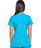 Photograph of Dickies Dynamix Rounded V-Neck Top in Blue Ice