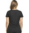 Photograph of Dickies Dynamix Women's Rounded V-Neck Top Black DK720-BLK