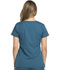 Photograph of Dickies Dynamix Rounded V-Neck Top in Caribbean Blue