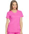 Photograph of Dickies Dynamix Women's Rounded V-Neck Top Pink DK720-COPK
