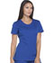 Photograph of Dickies Dynamix Women's Rounded V-Neck Top Blue DK720-GAB