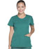 Photograph of Dickies Dynamix Rounded V-Neck Top in Hunter Green