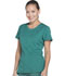 Photograph of Dickies Dynamix Women's Rounded V-Neck Top Green DK720-HUN