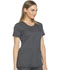 Photograph of Dickies Dynamix Rounded V-Neck Top in Pewter