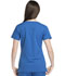 Photograph of Dickies Dynamix Women's Rounded V-Neck Top Blue DK720-ROY