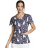 Photograph of Dickies Dickies Prints V-Neck Top in Trama Llama