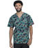 Photograph of Dickies Prints Men's Men's V-Neck Top Crosshatch Camo DK725-CRCO