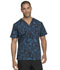 Photograph of Dickies Prints Men Men's V-Neck Top Tech-nically Speaking DK725-TESP