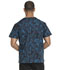 Photograph of Dickies Prints Men's Men's V-Neck Top Tech-nically Speaking DK725-TESP