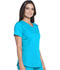 Photograph of Dickies Dickies Dynamix V-Neck Top in Blue Ice