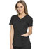 Photograph of Dickies Dynamix Women's V-Neck Top Black DK730-BLK