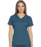 Photograph of Dynamix Women's V-Neck Top Blue DK730-CAR