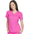 Photograph of Dickies Dynamix Women's V-Neck Top Pink DK730-COPK