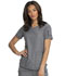 Photograph of Dickies Dynamix Women's V-Neck Top Black DK730-HTGR