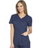 Photograph of Dynamix Women's V-Neck Top Blue DK730-NAV