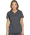 Photograph of Dickies Dynamix Women V-Neck Top Gray DK730-PWT