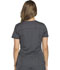 Photograph of Dynamix Women's V-Neck Top Gray DK730-PWT