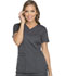 Photograph of Dickies Dynamix Women's V-Neck Top Gray DK730-PWT