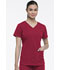 Photograph of Dickies Dynamix V-Neck Top in Red