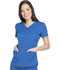 Photograph of Dickies Dynamix Women's V-Neck Top Blue DK730-ROY