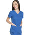 Photograph of Dynamix Women's V-Neck Top Blue DK730-ROY