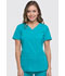 Photograph of Dynamix Women's V-Neck Top Blue DK730-TLB