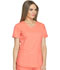 Photograph of Dynamix Women's V-Neck Top Orange DK730-VCRL