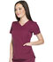 Photograph of Dickies Dynamix V-Neck Top in Wine