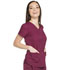 Photograph of Dickies Dickies Dynamix V-Neck Top in Wine
